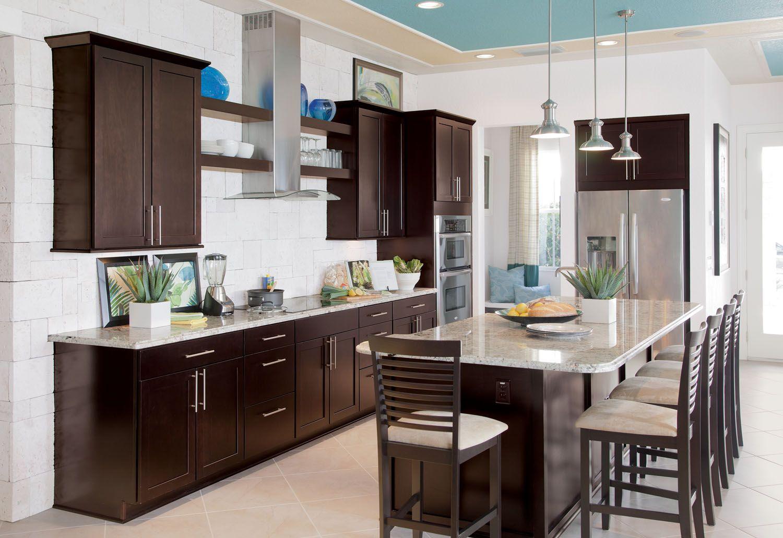 Espresso Cabinets Google Search Beautiful Kitchen Cabinets Espresso Kitchen Cabinets Kitchen Design