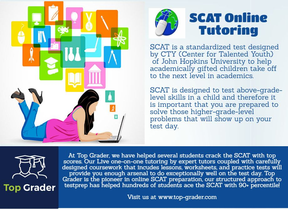 SCAT Online Tutoring | Worksheets and Students