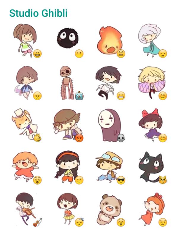 Studio Ghibli Sticker Pack Telegram Stickers Telegram