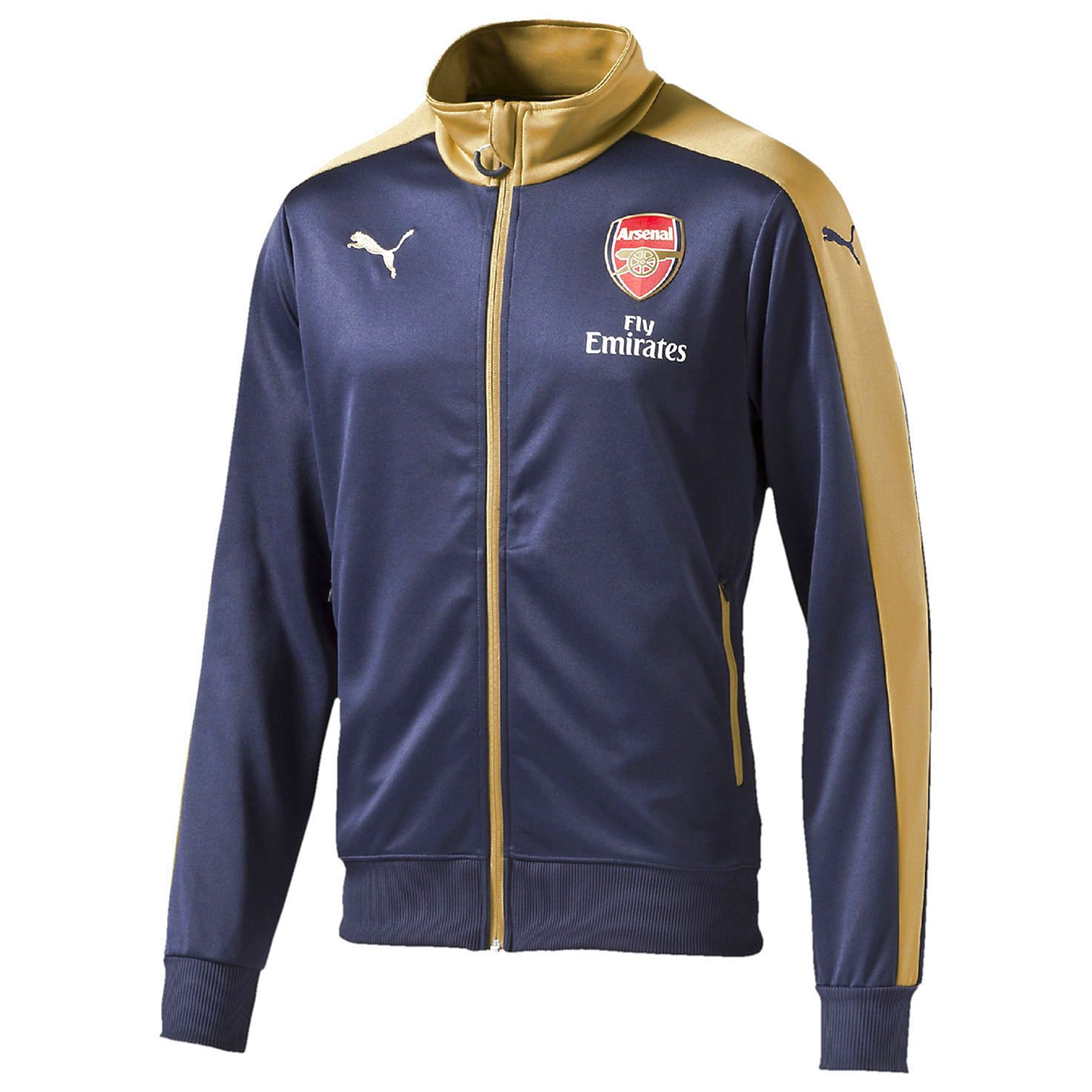 Arsenal FC Puma Stadium Jacket - Navy