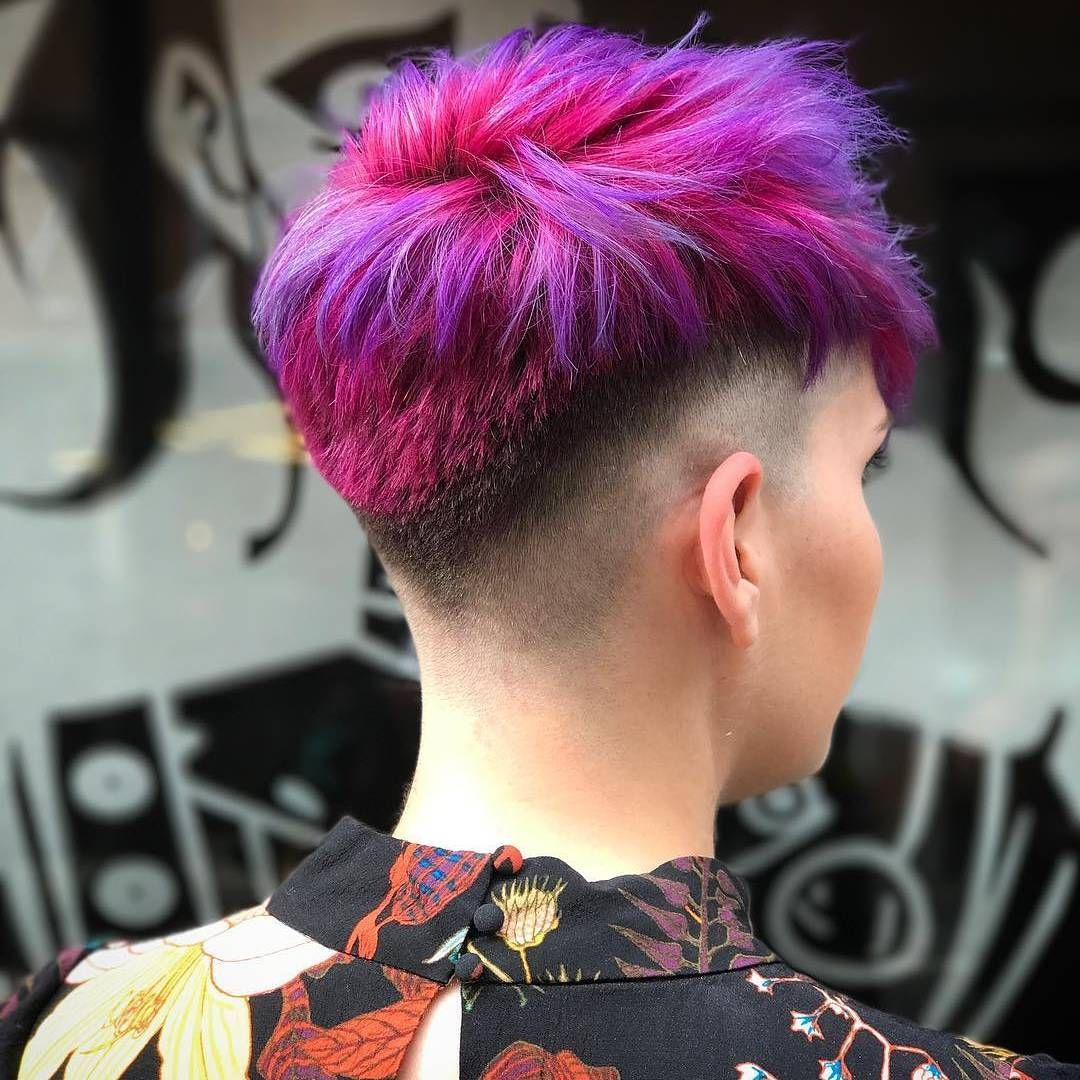 Crazy Fade Hair Color Crazy Short Hair Styles Pixie Hair Styles