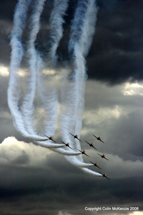 Fantastic shot, Farnborough Air Show, Kent, UK