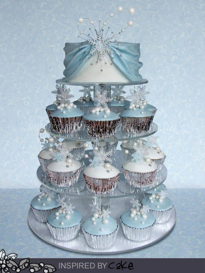 Winter Wonderland Cupcakes   Winter cupcakes, Winter cake ...