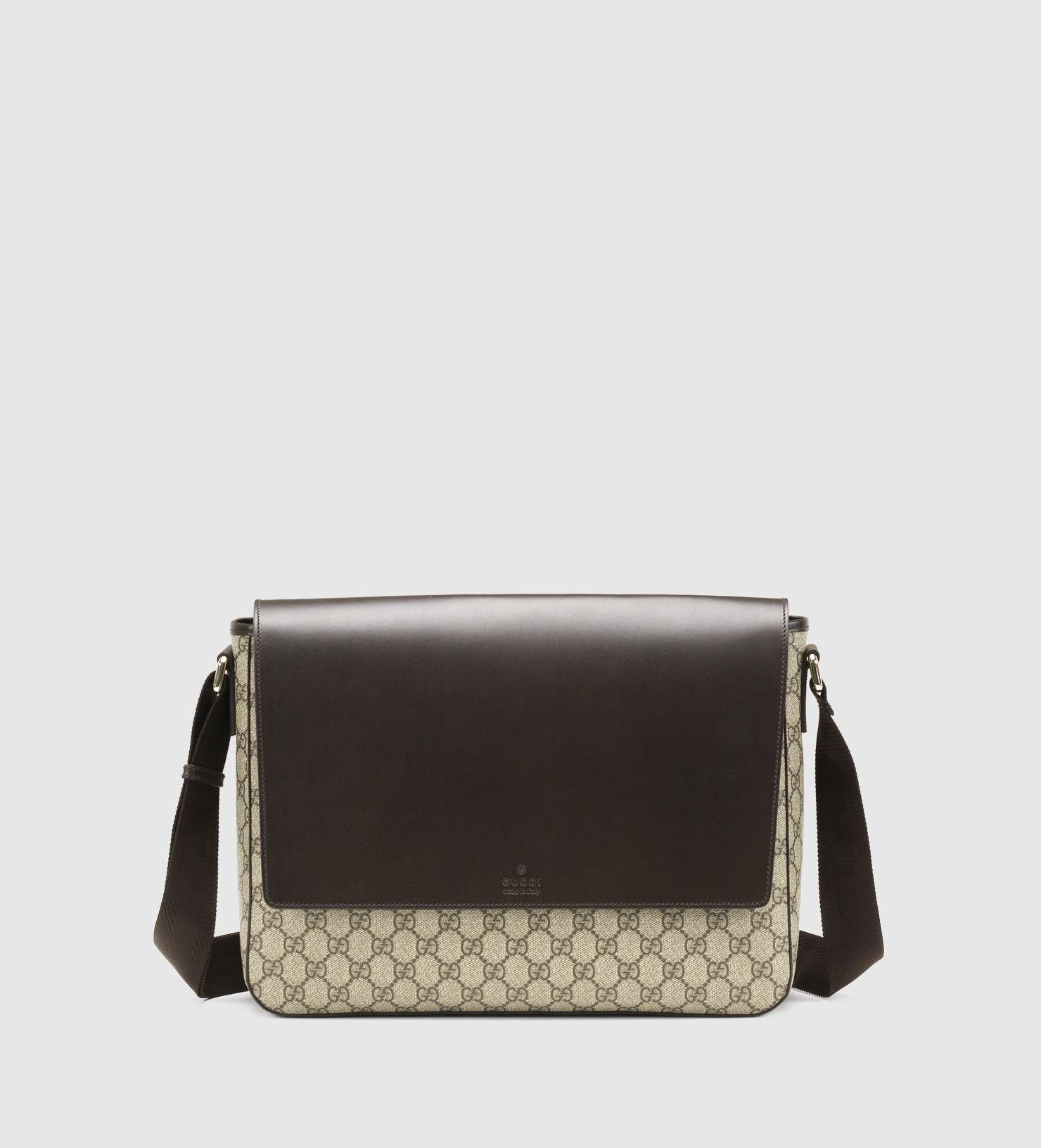 ce5db6064b88 Gucci - GG supreme canvas messenger bag 353433KGDIG8588   Unlimited ...