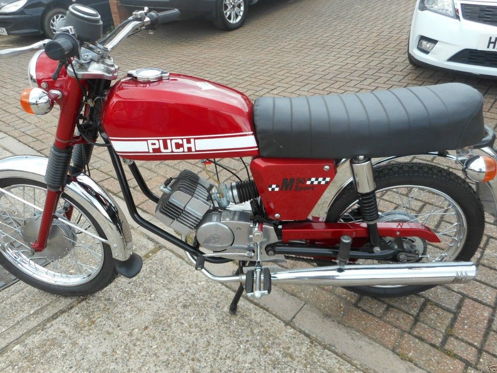 Puch M50 Sports Moped 1974 Vintage moped, Puch moped