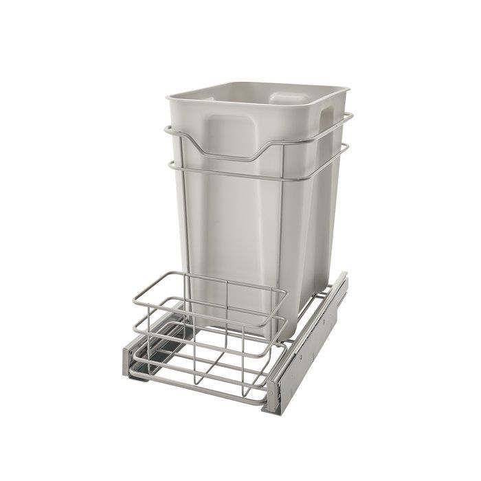 6 Gallon Pull Out Trash Can | Kitchen trash cans ...