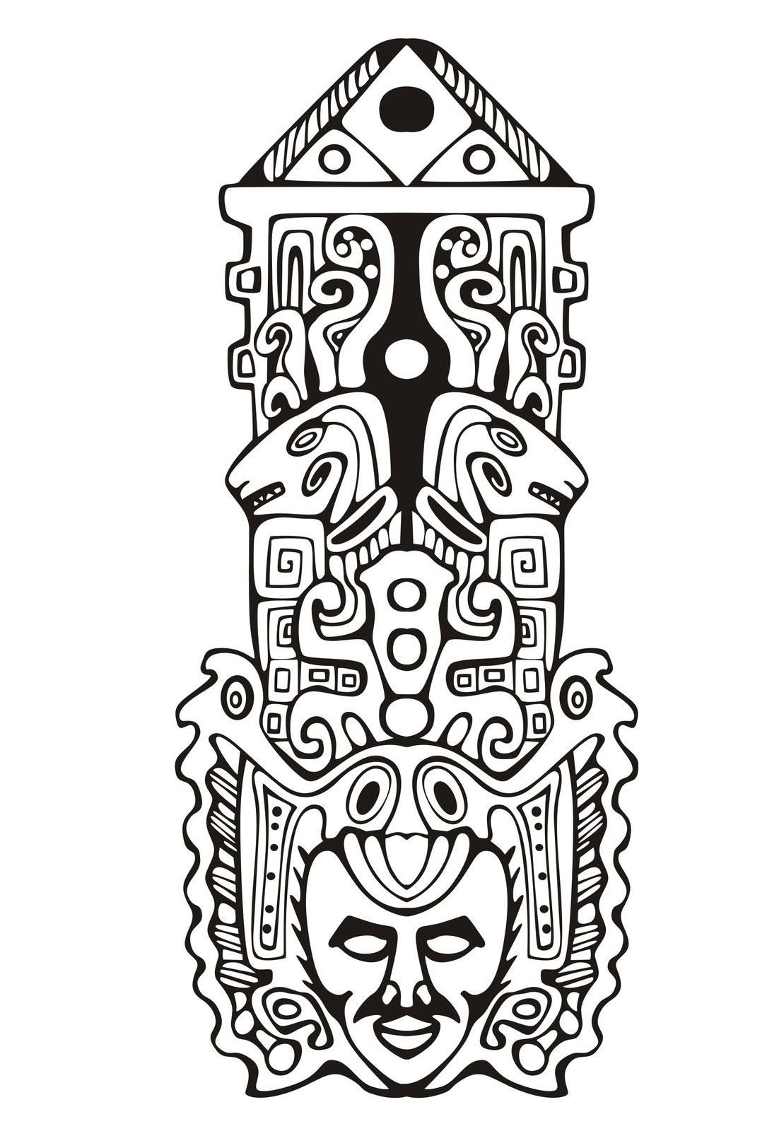 free inca coloring pages - photo#17