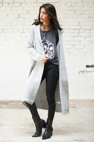 Manhattan Knit Cardigan