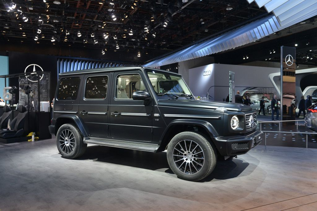 The 2019 Mercedes-Benz G-Class is the definition of retro ...