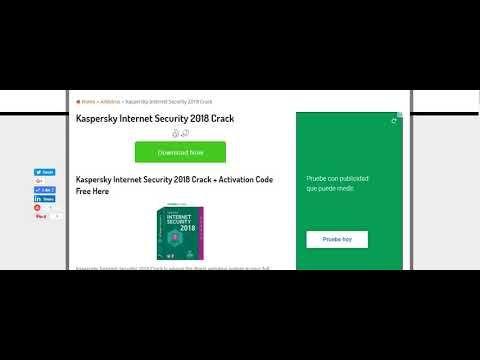 Kaspersky Internet Security 2018 Crack + Activation Code