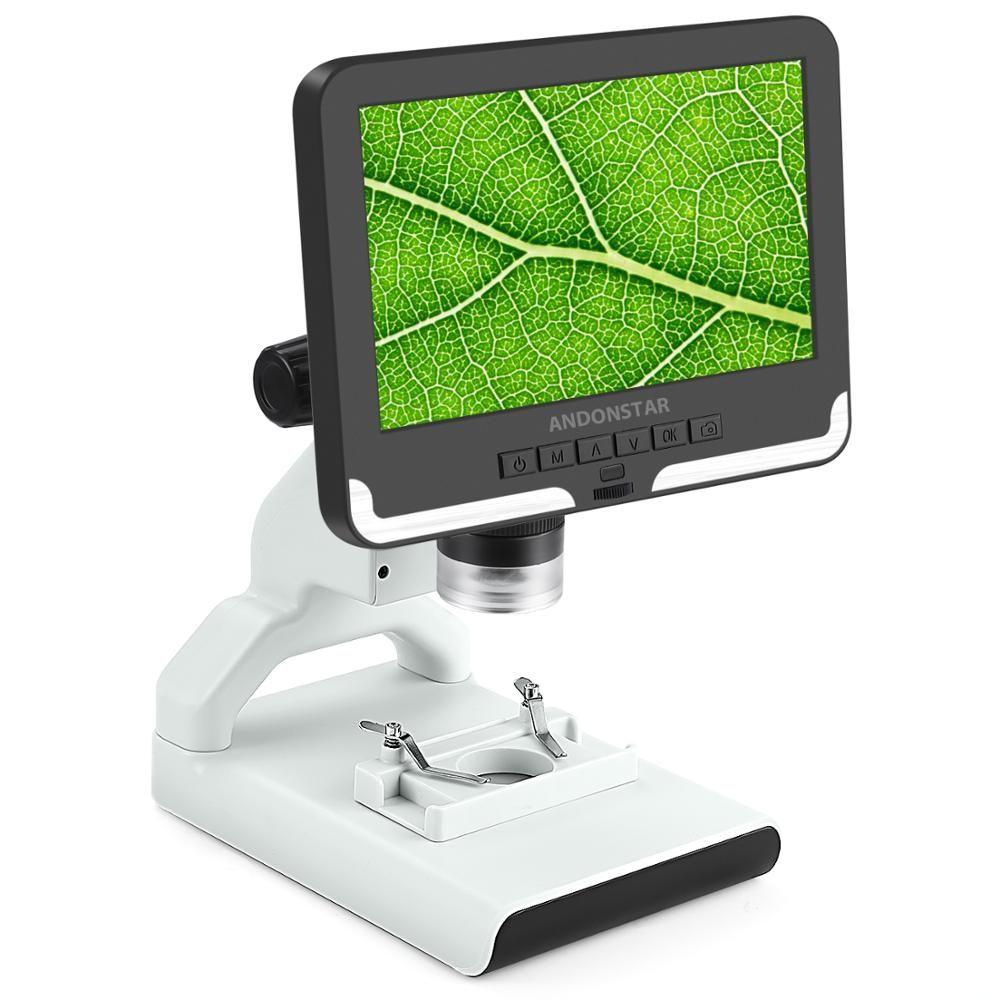 Anondstar 2mp Digital Microscope Ad108 7 Inch Lcd Screen