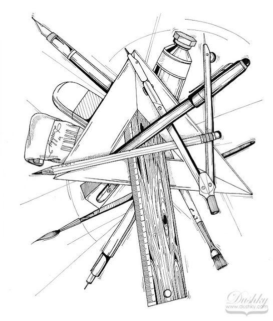 Sketch B Dushky