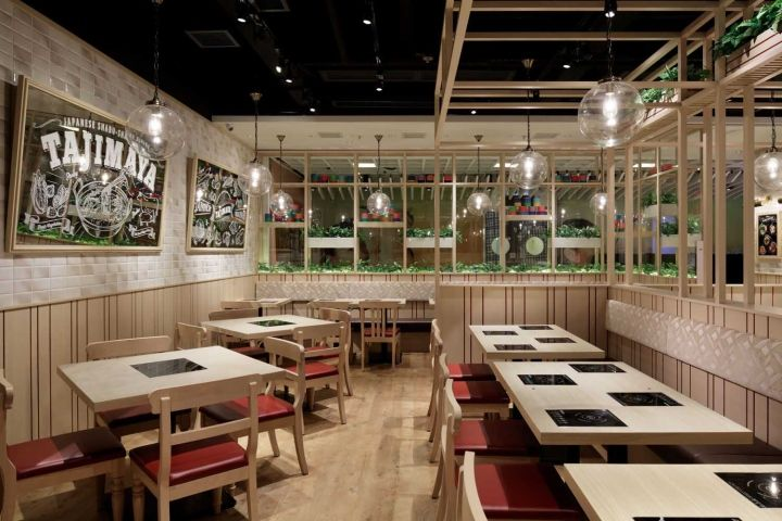 Tajimaya Shabu Restaurant By STUDIO C8 Hong Kong Retail Design Blog