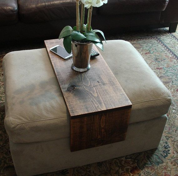 Amazing Simply Ottoman Cushion Wrap Tray Table By Keodecor On Etsy Alphanode Cool Chair Designs And Ideas Alphanodeonline