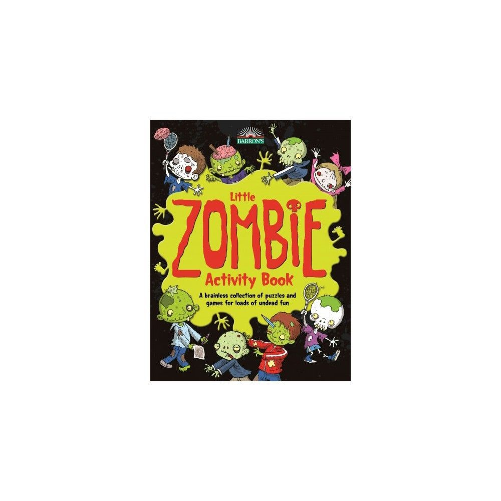 Little Zombie Activity Book (Paperback)