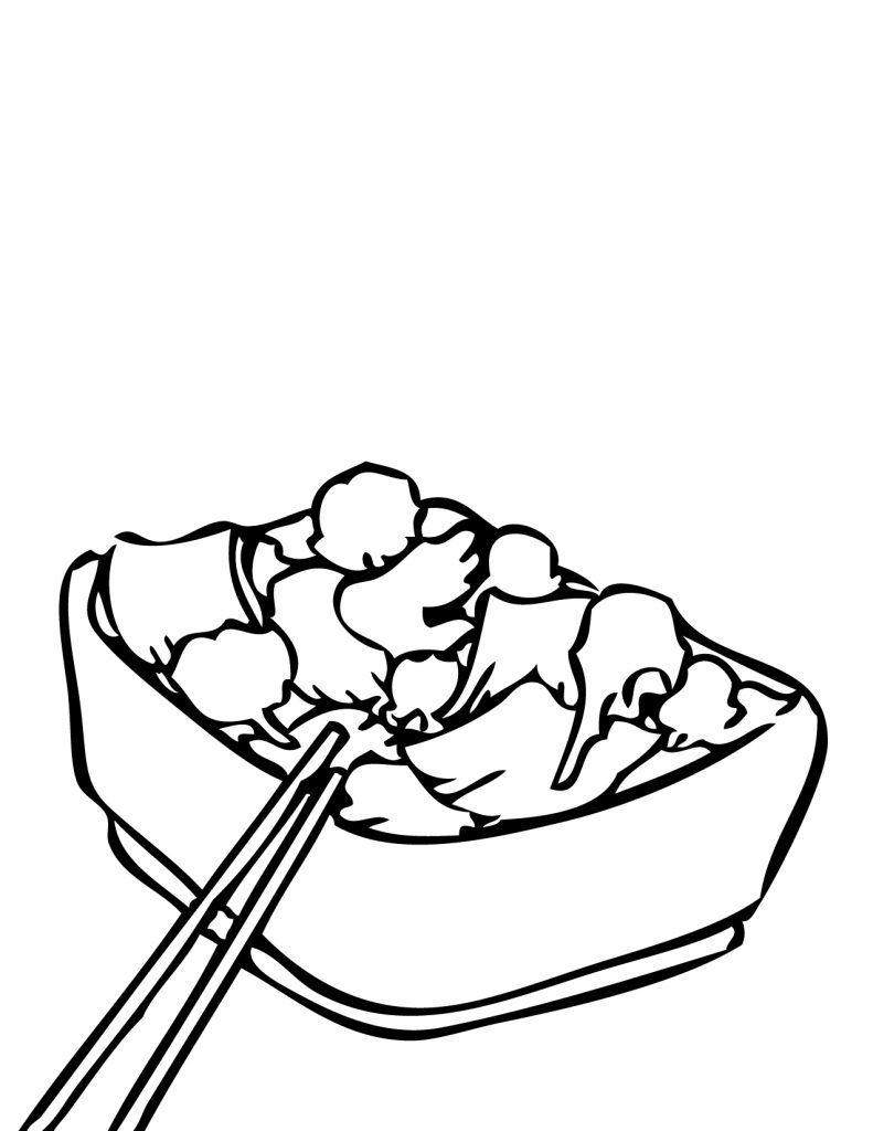 Coloring Rocks Food Coloring Pages Food Coloring Coloring Pages For Kids [ 1024 x 791 Pixel ]