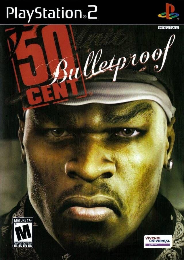 50 Cent Bulletproof Playstation 2 Games Ps4 Ps3 Ps2 Ps1