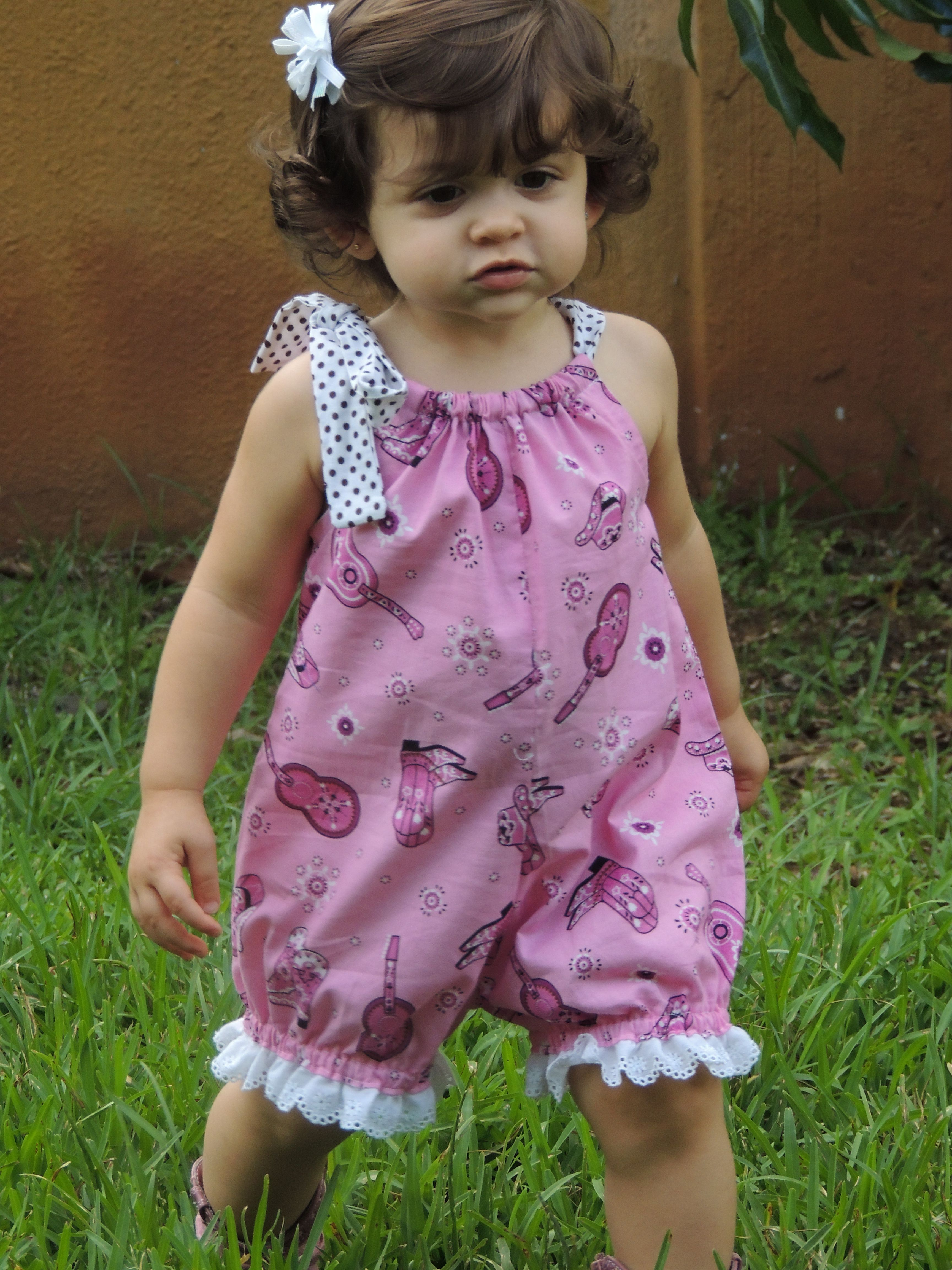 Pillow case romper More | American Doll Clothes. (18\'\') | Pinterest ...