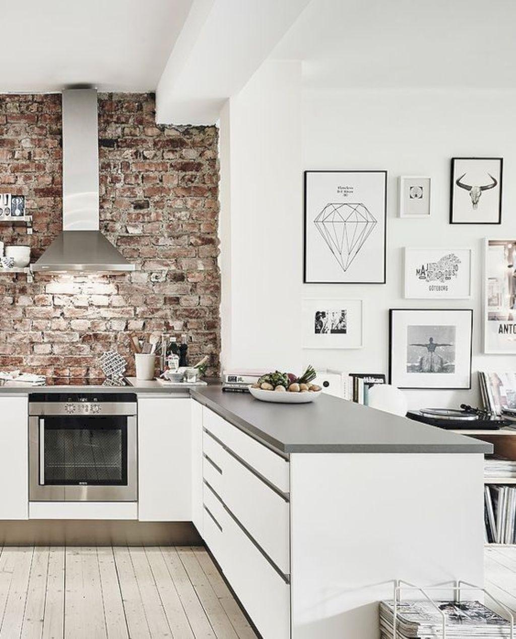 63 Gorgeous Modern Scandinavian Kitchen Ideas | Kitchens, Modern and ...