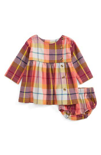 12e463f6f Tea Collection Tea Collection Plaid Cotton Flannel Dress (Baby Girls ...