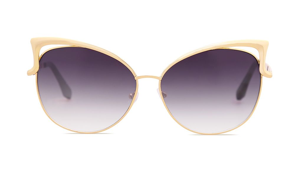 a028e48c8b2 SojoS Fashion Cat Eye Style Metal Frame Women Sunglasses Lady Glasses  SJ3163-WOMEN S SUNGLASSES-