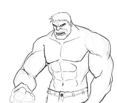 Hulk Ausmalbilder Einfach 1103 Malvorlage Hulk