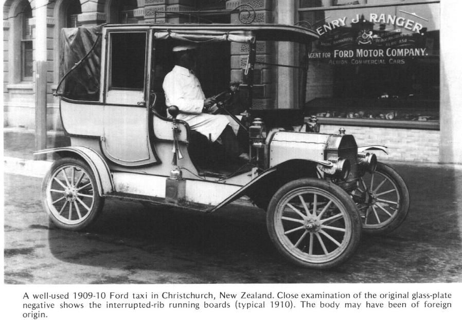 Model T Ford 1912 Taxi Christchurch Nz Model T Ford Motor Best