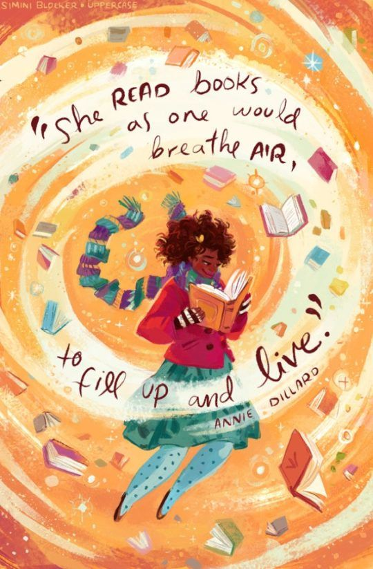 Famous book quotes on infinitely charming posters by Simini Blocker