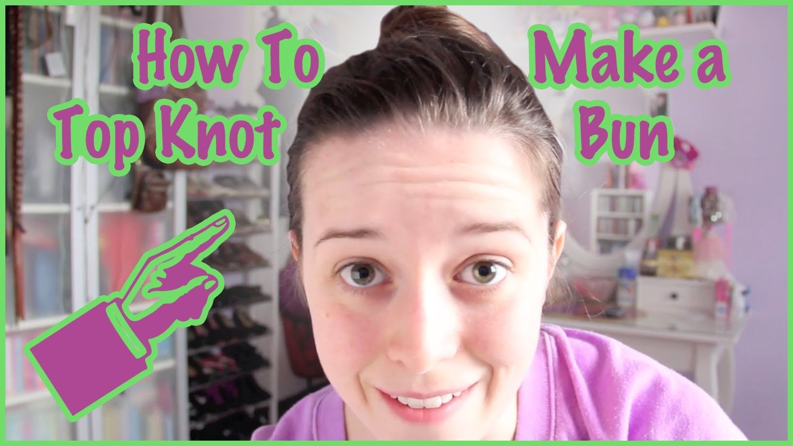How to Make a Top Knot Bun ✿ Beauty #topknotbunhowto