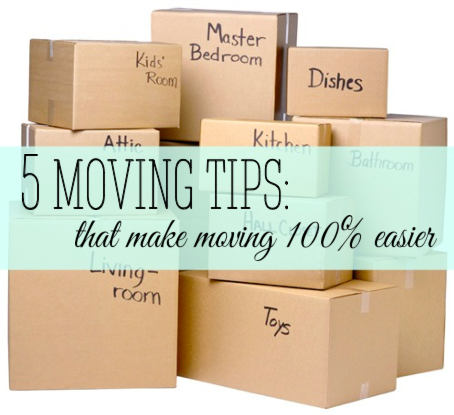 awesome ideas to help your moving process so much easier!