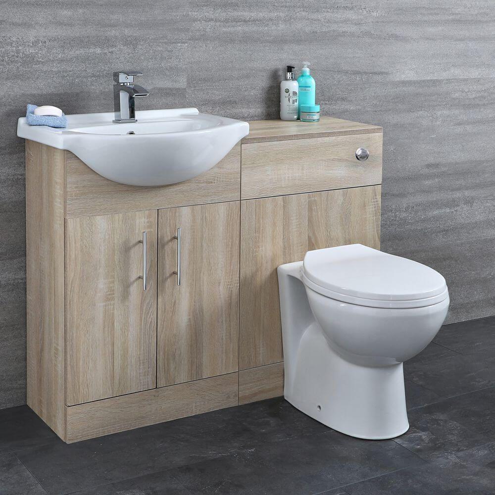 17 Stylish Toilet Sink Combo Ideas That Help You Stay Green Vanity Basin Vanity Unit Cistern [ 1000 x 1000 Pixel ]