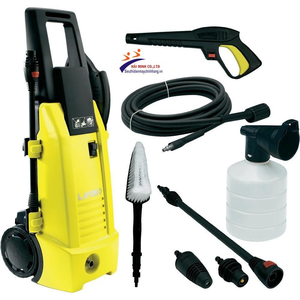 MÁY RỬA XE LAVOR NINJA PLUS 130 thuộc dòng sản phẩm máy rửa xe gia đình  chính hãng Lavor công nghệ Italy, đảm bảo t…   Máy phun áp lực, rửa xe