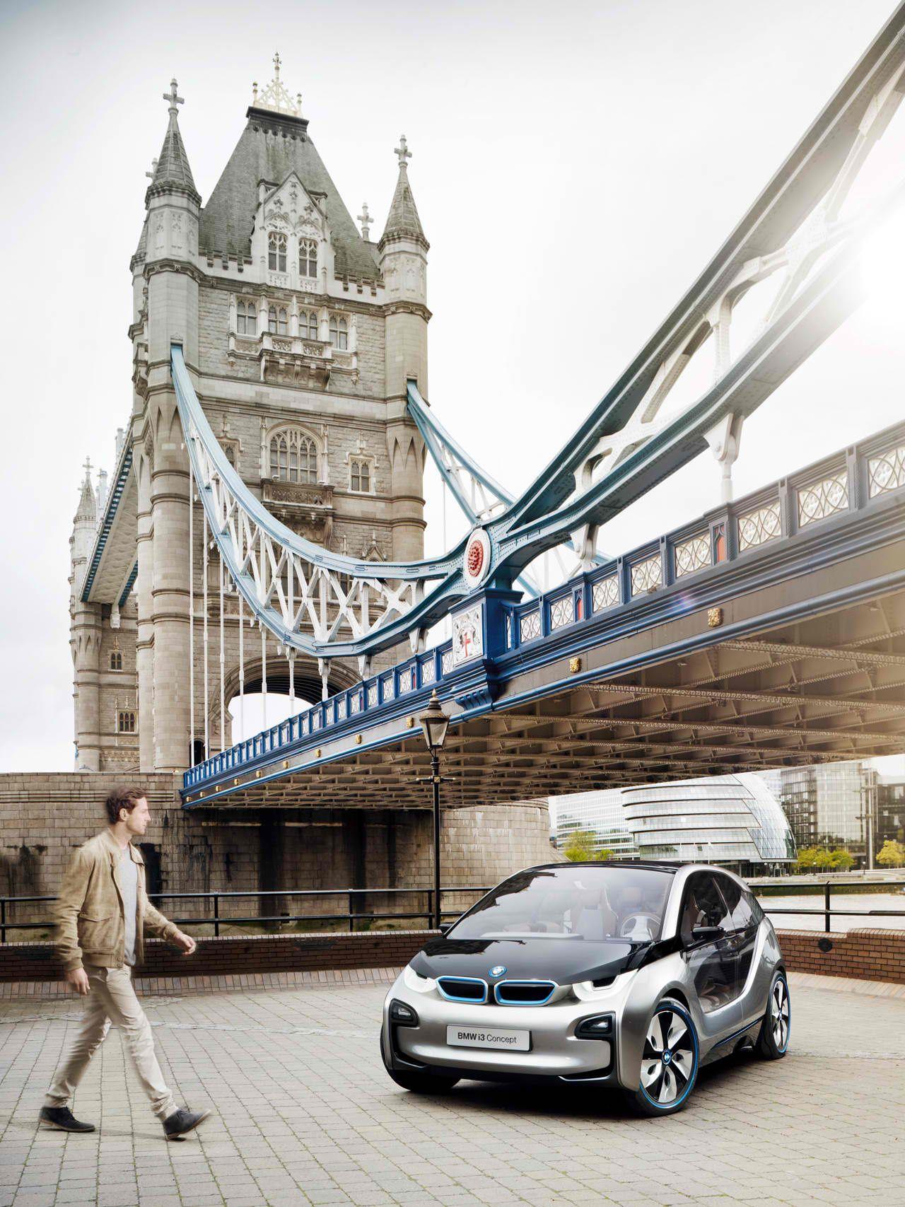 BMW i3 in London