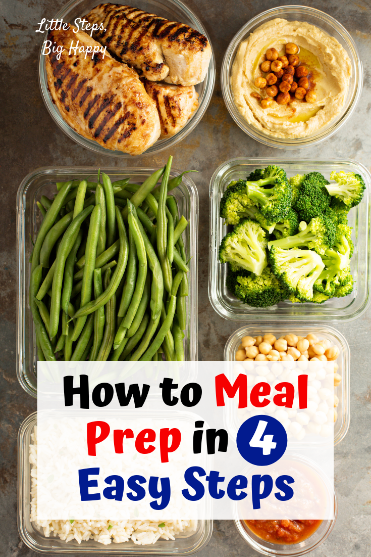 How to Meal Prep in 4 Easy Steps – -   19 meal prep recipes for beginners simple ideas