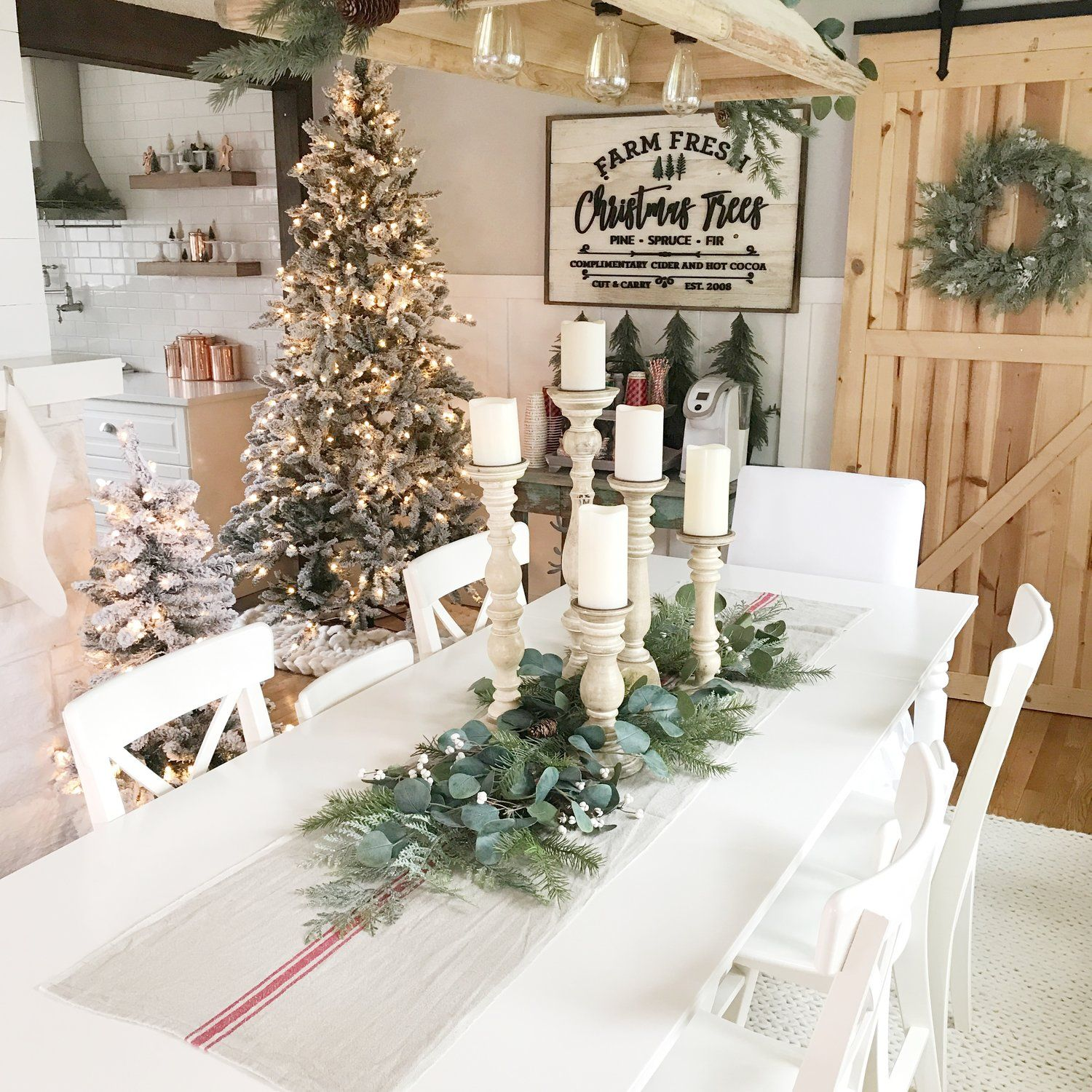 Chandelier antique farmhouse christmas tree sign harper grayce chandelier antique farmhouse christmas tree sign harper grayce wreath walnut harbor aloadofball