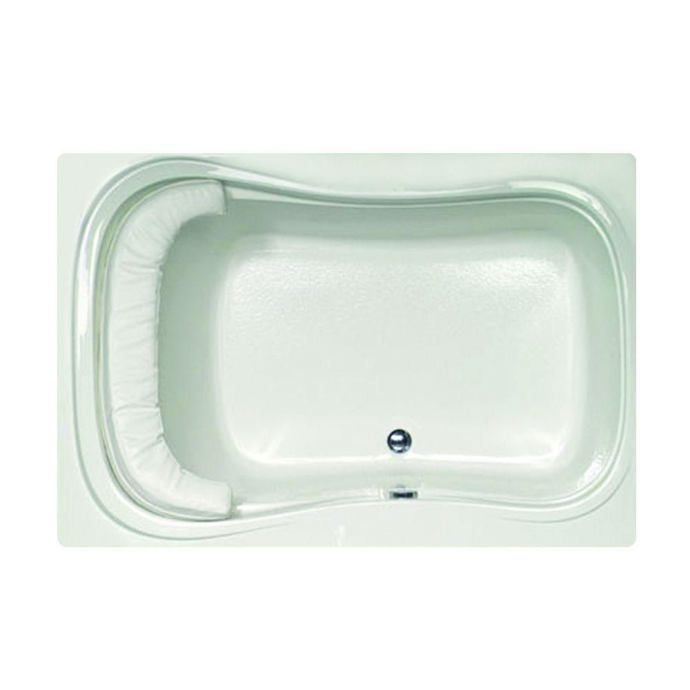 Hydro Systems Lancing 5 ft. Reversible Drain Air Bath Tub in White