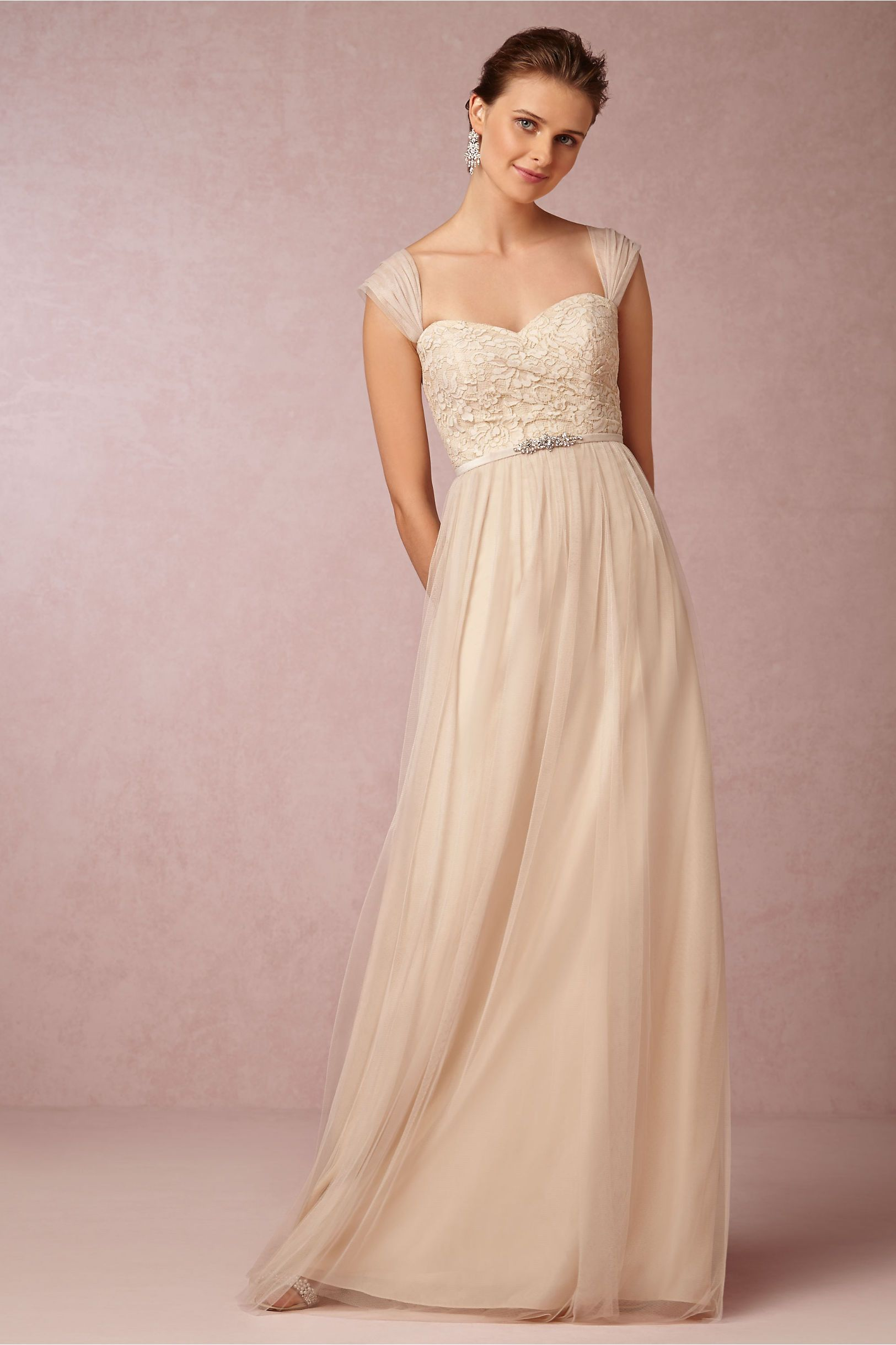 Juliette Dress in cashmere by Jenny Yoo for BHLDN | Fall Wedding ...