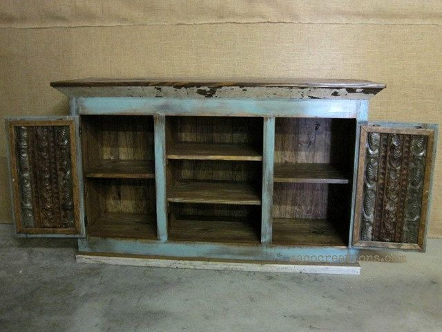 Unique Media Console / TV Cabinet With Storage In By ZacoCreations, $895.00