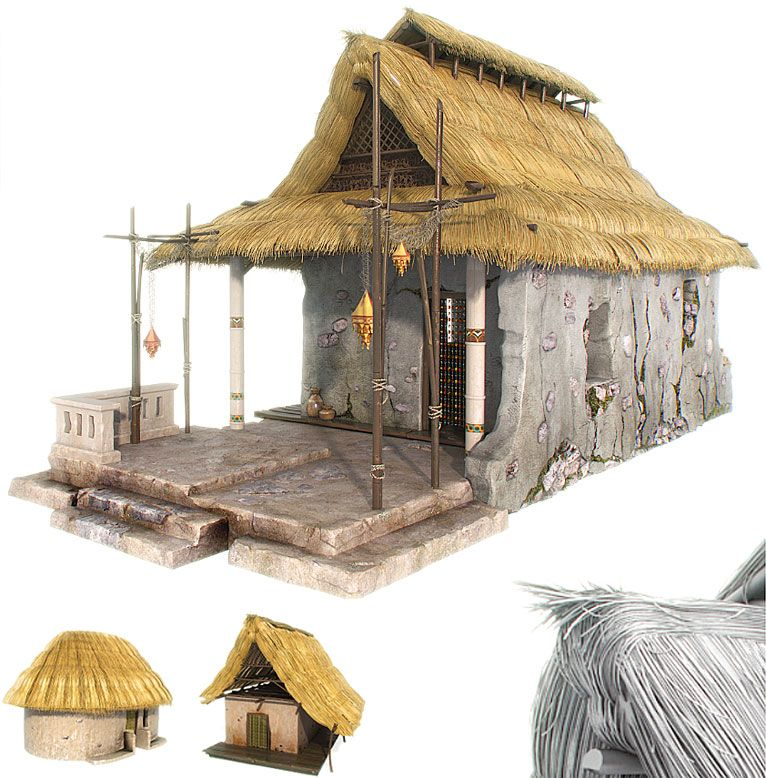 Thatching Roof Tutorial