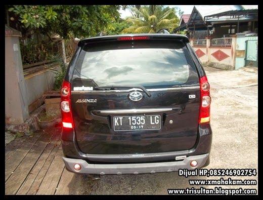 Dijual Mobil Toyota Avanza G Hitam 2010 Ada Tv Sound Barang Siap