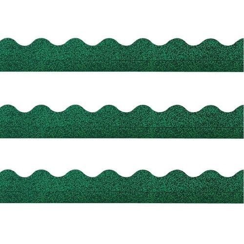 Green Sparkle-Trimmers