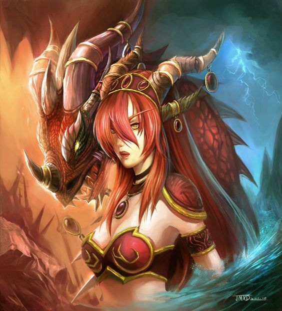 Alexstrasza #warcraft #worldofwarcraft #legion   World of Warcraft ...