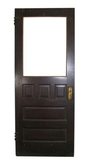 Half glass door with raise panels doors pinterest raised panel half glass door with raise panels planetlyrics Image collections