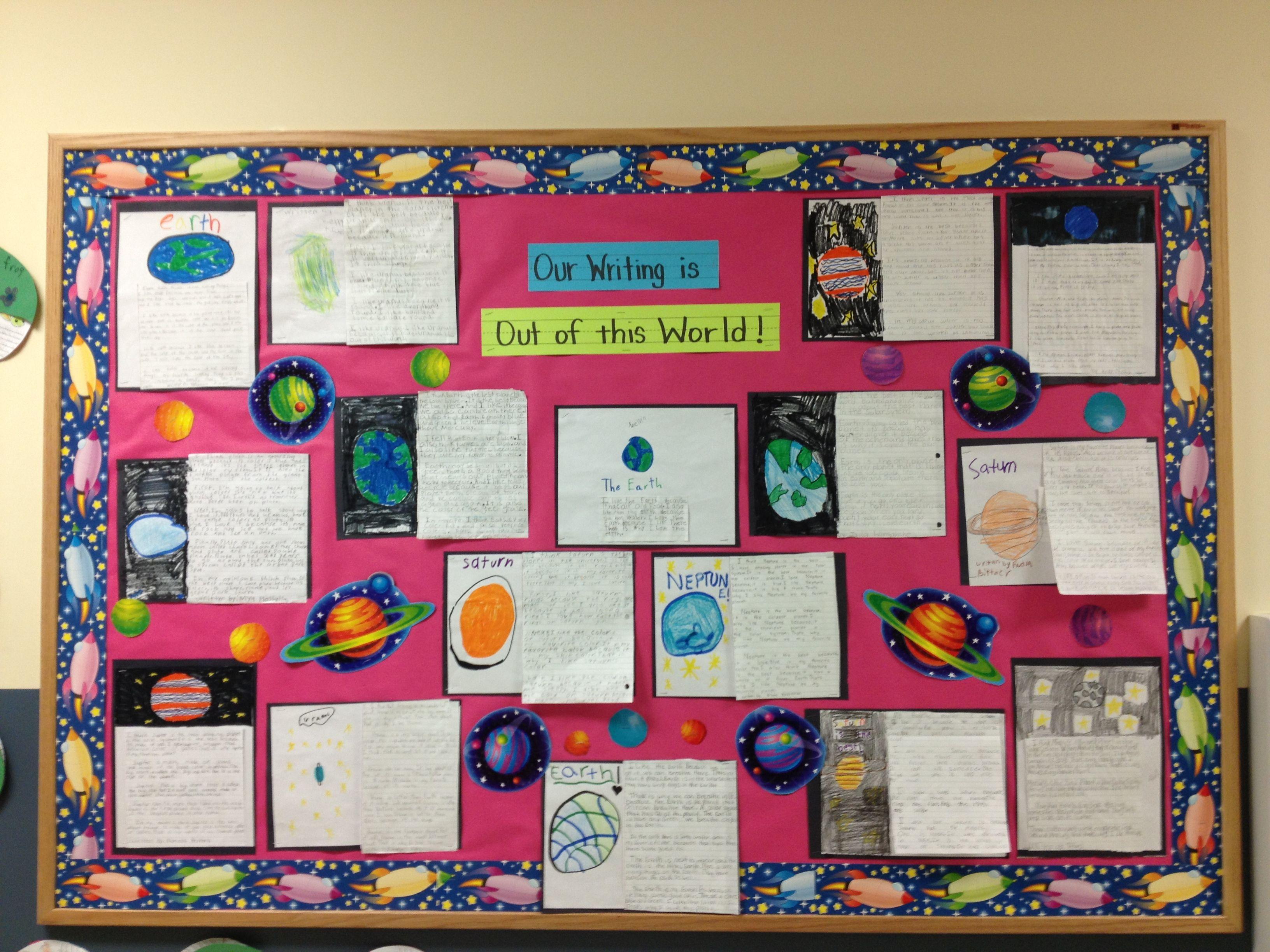 Solar System Writing