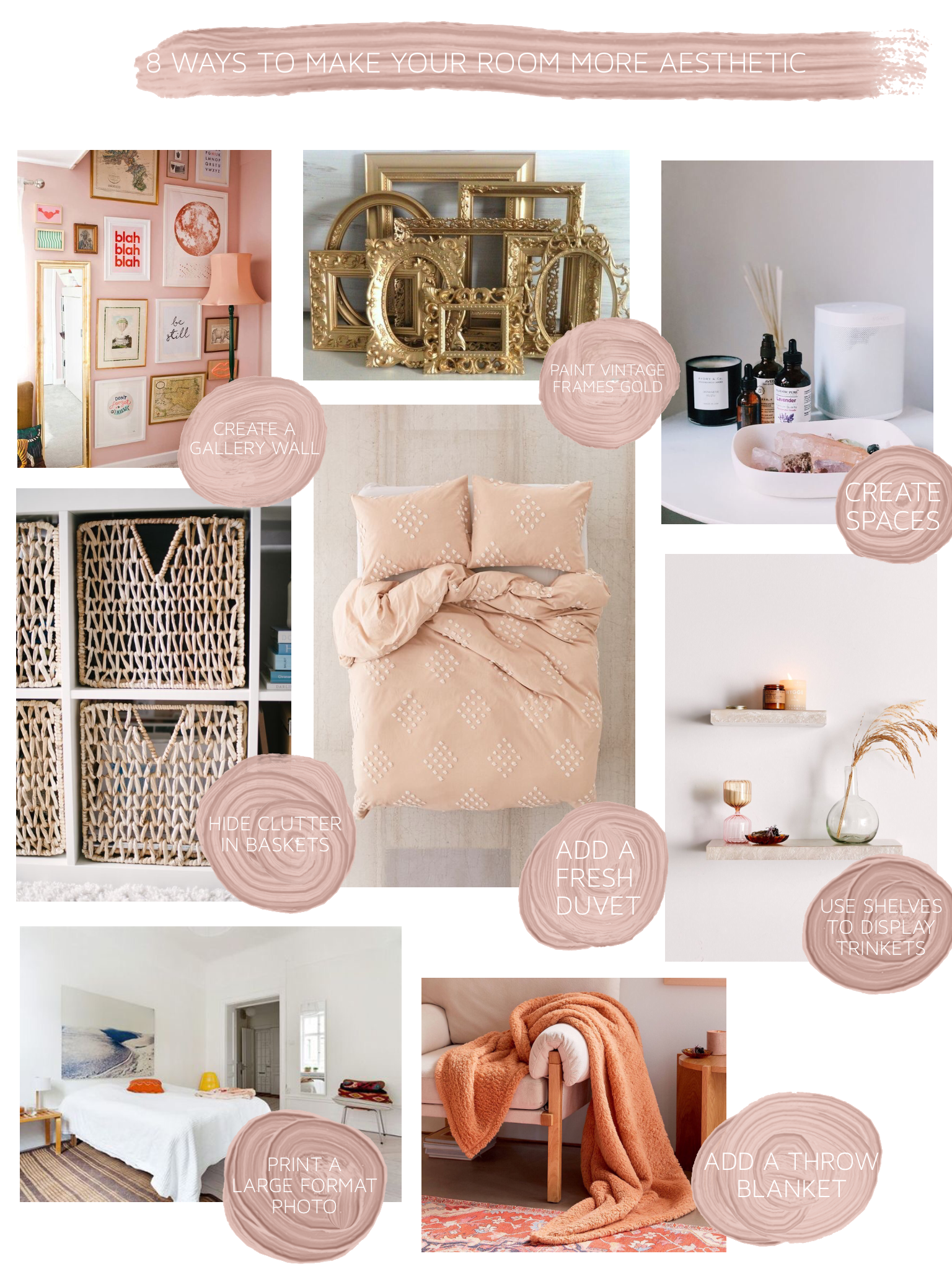 8 Ways To Make Your Room More Aesthetic Room Home Decor Home