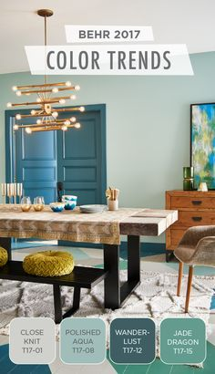 We Re Simply Swoonin 2017 Home Color Trends Decor Paint