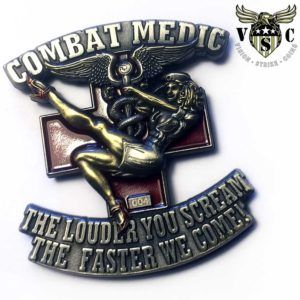 US Army Combat Medic 68 Whiskey Coin | ARMY CHALLENGE COINS
