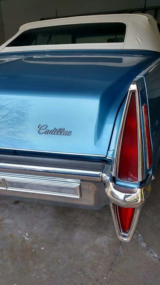 1970 Cadillac Deville Tail Light
