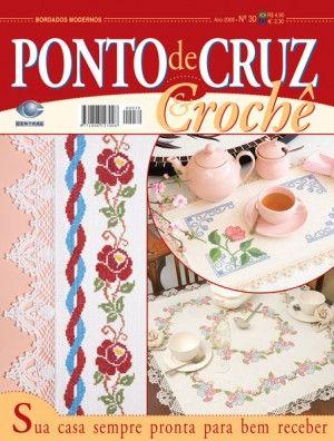 Ponto de Cruz & Crochê nº 30