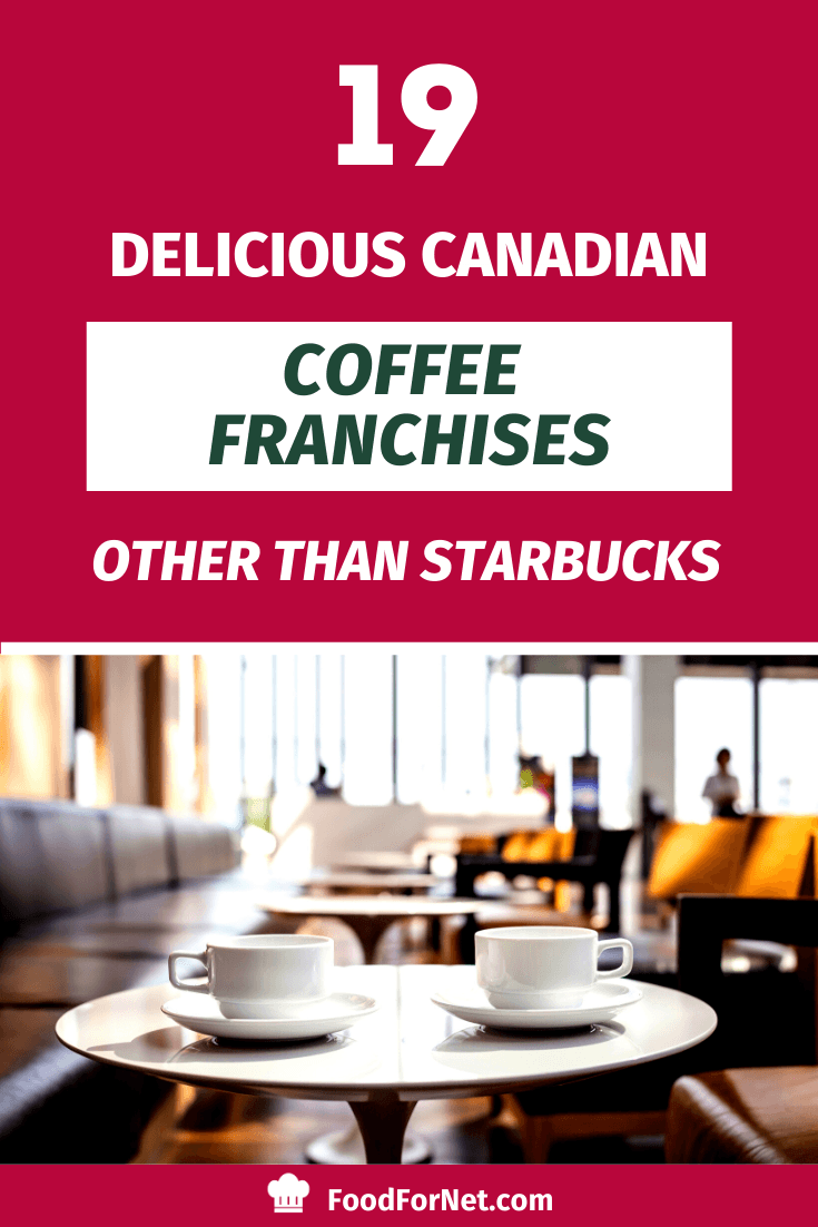 19 Delicious Canadian Coffee Franchises Other Than